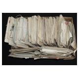 #880 Large Lot of WW1 letters to a soldier from Detroit