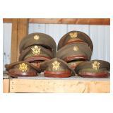 #912 WW2 Army Hats
