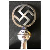 #823 Nazi flag Pole Top