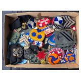 #886 large Lot of US military Patches, mostly WW2