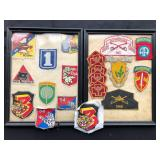 #893 Large lot of Vietnam Insignias incl special forces