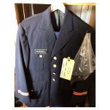 #923 Lot of 3 uniforms incl US Army Dress uniform Col.