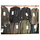 #935-942 Choice on Military Jacks, Coats, Suites, etc.