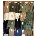 #951-#970 Various Military Uniforms incl. WW2 USMC HBT Shooting Jacket
