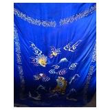 #851 Large Silk Banner, Korean War,