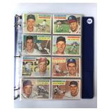 #261 1956 Topps Partial set