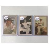 #254 1953 Bowman lot of (3) Stengel (B&W), Al Lopez & P. Richards