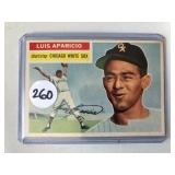 #260 1956 Topps Luis Aparicio Rookie - VG