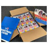 1989-90 Hoops Series 1 Basketball retail display case. Includes the entire display and 20 boxes