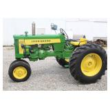 #600 John Deere Model 430 NF restored tractor