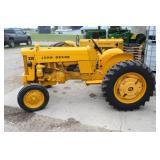 Lot# 607 John Deere Model 330 WF restored tractor