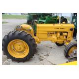 Lot# 608 John Deere Model 420 Utility WF restored tractor