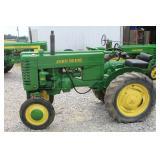#609 John Deere Model M WF restored tractor