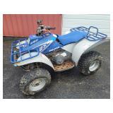 #614 1993 Polaris 250 2x4 ATV w/ Front and Rear Gear Racks,  Title, etc. VIN# 2084705
