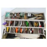 #133Plano tackle box with dual fold out trays