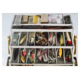 #133 Plano tackle box with dual fold out trays