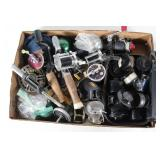 #152 Reel lot of mostly parts- Mitchell, fly fishing reels, etc.