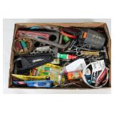 #154 Misc. Fishing Supplies incl. Gander Mtn. Pliers, Super Glue,