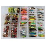 #156 Choice on Fantastic Fishing Lure lots in boxes