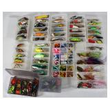 #157 Choice on Fantastic Fishing Lure lots in boxes