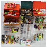 #158 Choice on Fantastic Fishing Lure lots in boxes