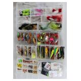 #160 Choice on Fantastic Fishing Lure lots in boxes