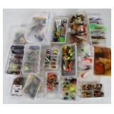 #161 Choice on Fantastic Fishing Lure lots in boxes