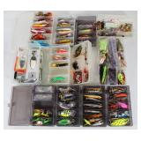 #162 Choice on Fantastic Fishing Lure lots in boxes
