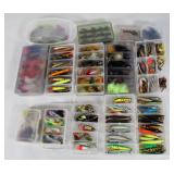#163 Choice on Fantastic Fishing Lure lots in boxes