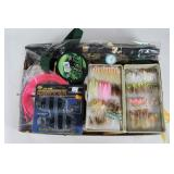 #210 Lot of Various Fly Fishing Bait
