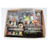 #212 Custom Bait supplies incl. Colorful thread, etc.