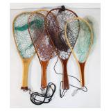#223 Lot of 6 Fishing nets- Various sizes