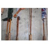 #191 Close up of fly fishing rods
