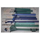 #192 Lot of 10 Fly Fishing Rods incl. Cabela