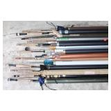#195 Large Fly Fishing Rod lot of Approx. 15