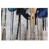 #195 Close up of Fishing Rods