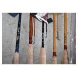 #196 Rods w/ Case- some with tags