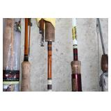 #196 Vintage Bamboo, Plateau, Powell, Eagle Claw, Hurricane, etc.