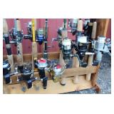 #183 Close up of Fishing Reels