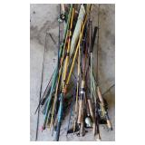 #201 Small lot of misc. fly fishing poles
