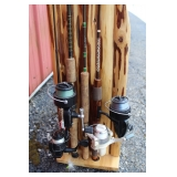 #186 Close up of rod and reels