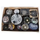 #148 Fly Fishing Reel lot of approx. 10