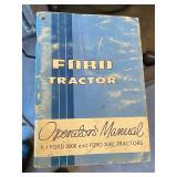 Ford 3000 Operators Manuel