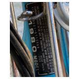 1980 Honda ID Tag