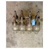 Oil Bottles and Carrier