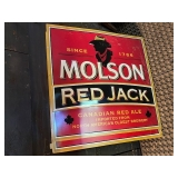 Molson Red Jack Signs