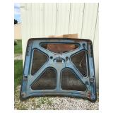 57 to 59 Ford retractable deck lid