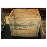 #2512 Verners crate with bottles