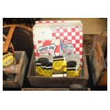 #2539 Northland Prunes Crate incl. Culture smoking tobacco boxes, Yankee girl scrap boxes, etc.