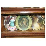 #2514 3 Serving Trays incl. Pepsi Cola, P.O.M Dobler Brewing, and Cylsmic tray